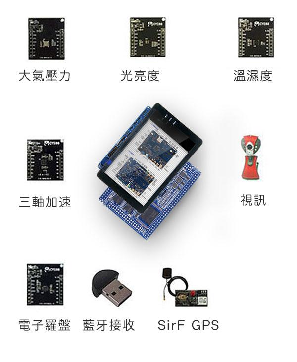 ARM-Cortex A9實作教學開發板